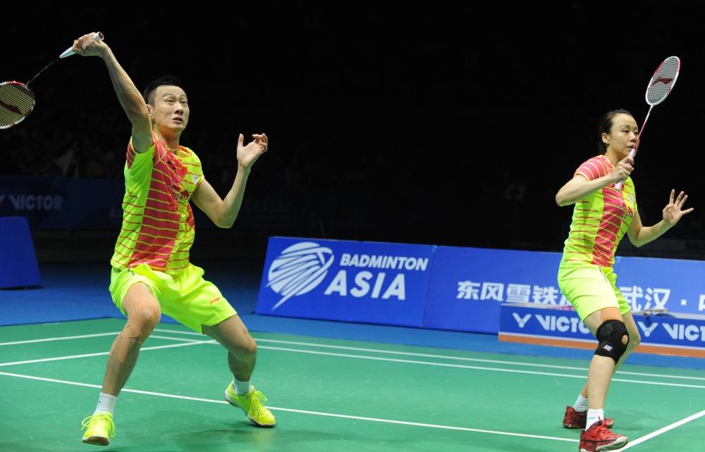 Asia Championships - Day 6 - Zhang Nan & Zhao Yunlei