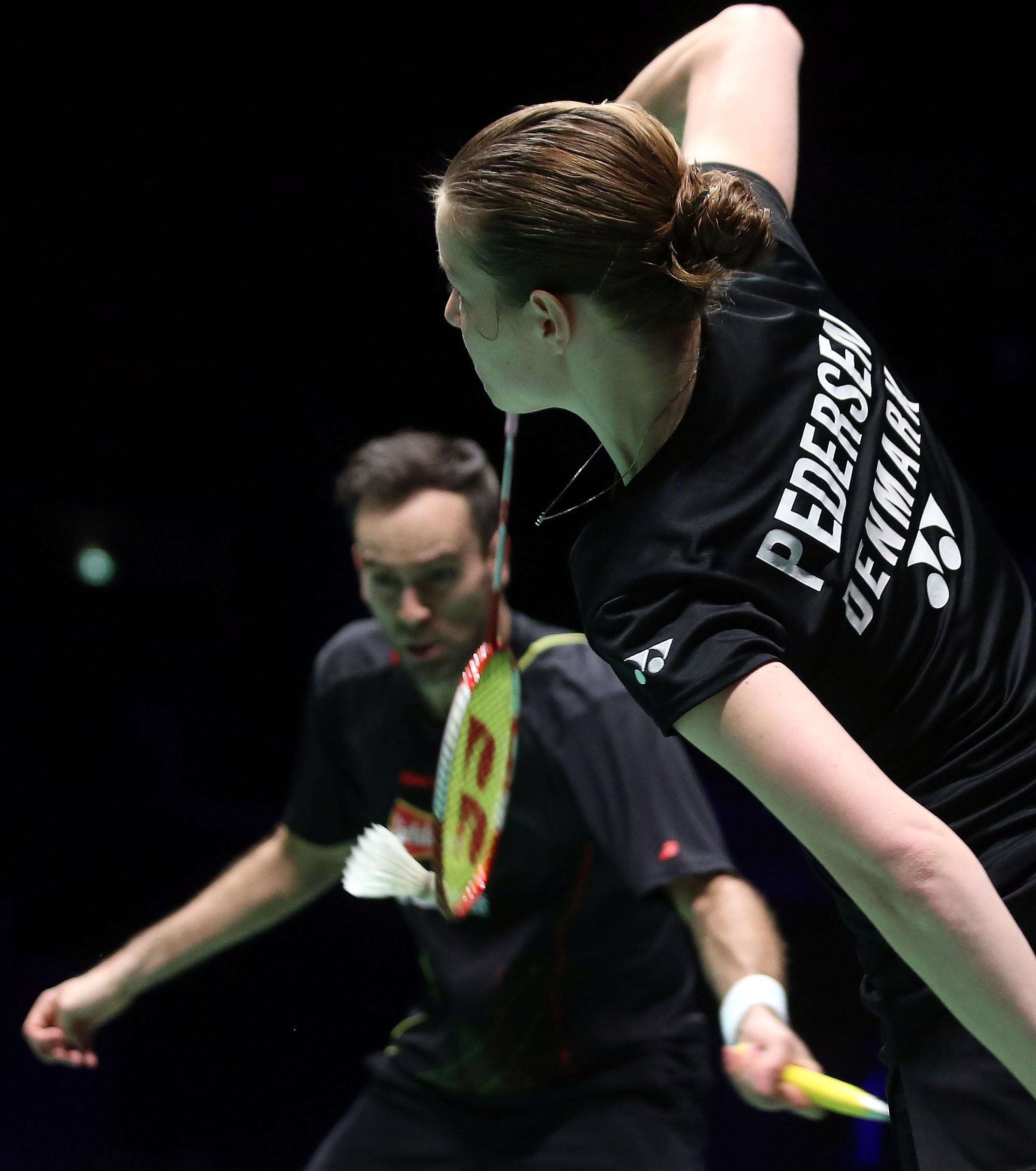 European Champs - Day 6 - Joachim Fischer Nielsen & Christinna Pedersen of Denmark