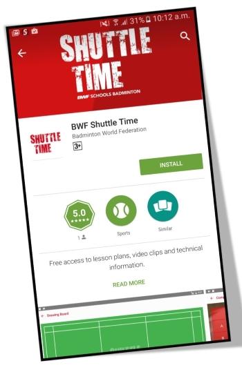 Shuttle Time app