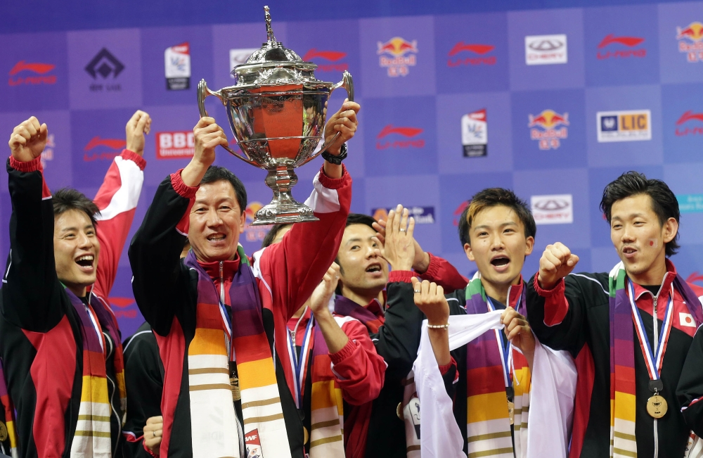 Thomas Cup win