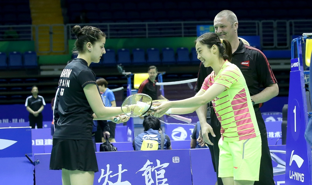 UC Finals_Carolina Marin & Wang Shixian