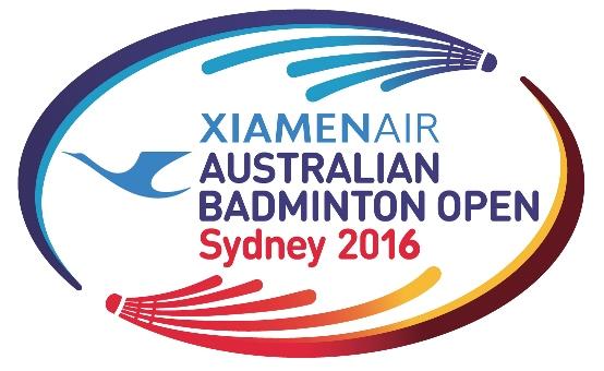 Australian Badminton Open 2016 logo