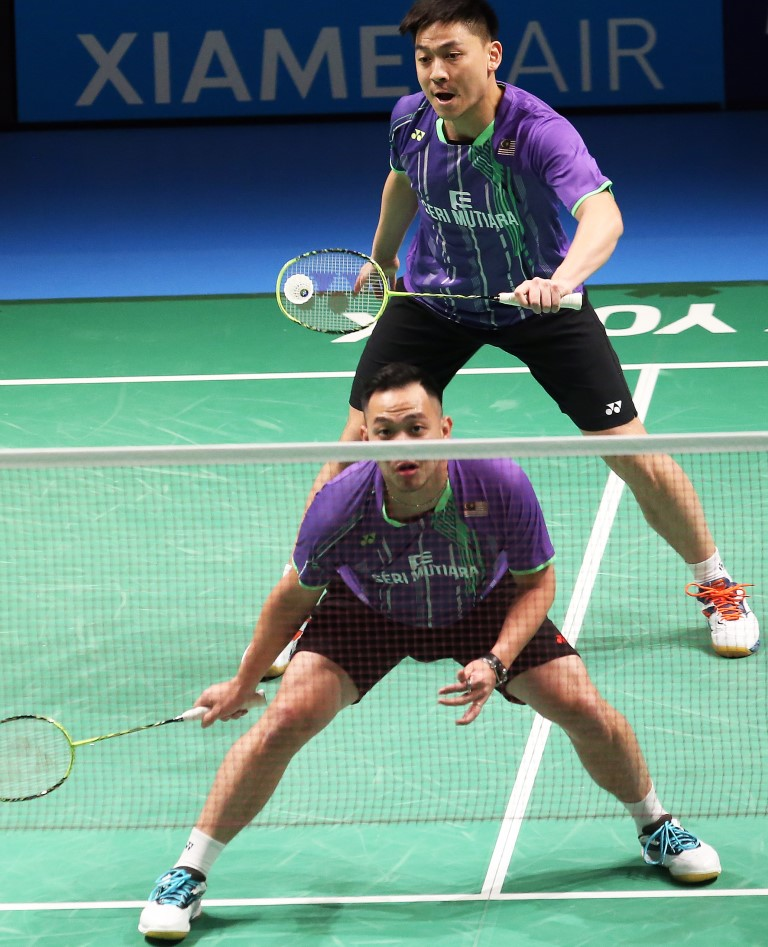 Australian Open 2016 - Day 3 - Koo Kien Keat & Tan Boon Heong of Malaysia