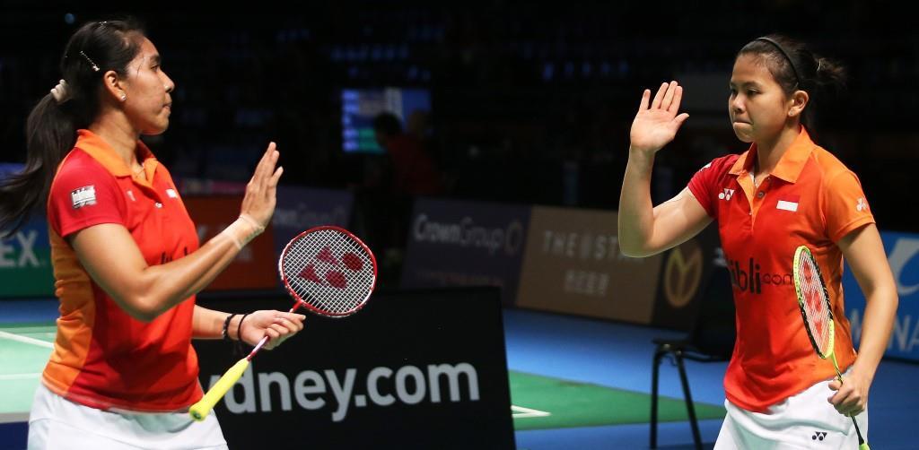 Australian Open 2016 - Day 3 - Nitya Krishinda Maheswari & Greysia Polii of Indonesia