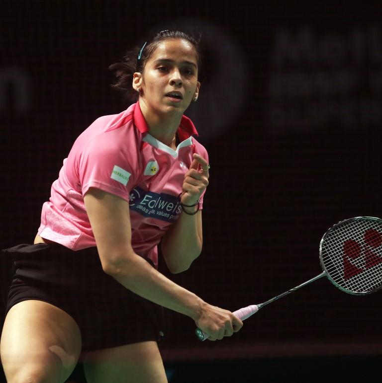 Australian Open 2016 - Day 3 - Saina Nehwal of India