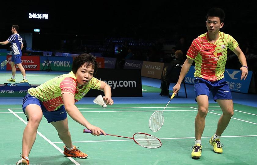 Australian Open 2016 - Day 3 - Zheng Siwei & Chen Qingchen of China