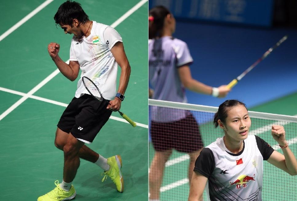 Australian Open 2016 - Day 4 - Kidambi Srkanth & Wang Yihan