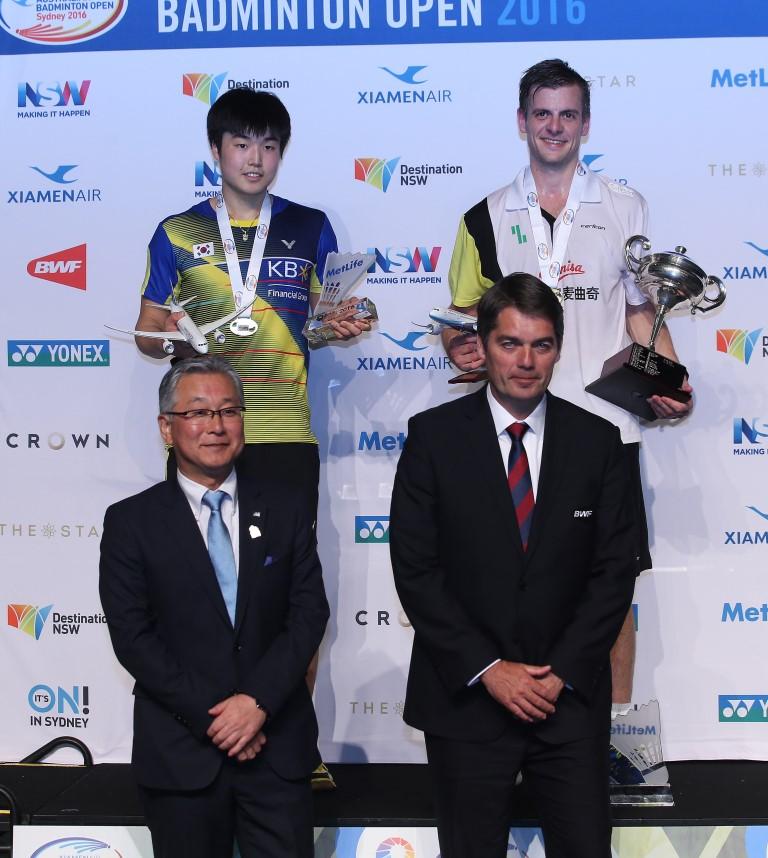 Australian Open 2016 - Day 6 - Men's Singles presentation ceremony