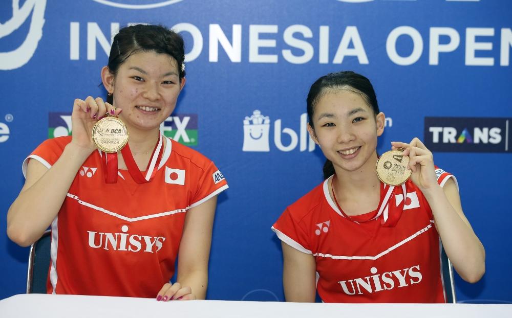 Misaki Matsutomo & Ayaka Takashashi_Indonesia
