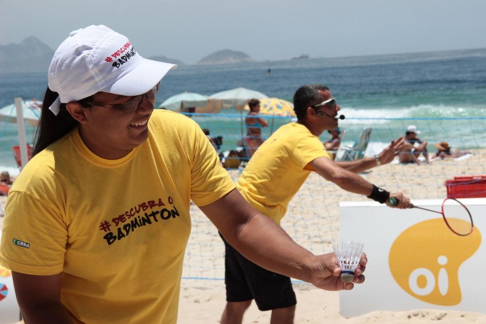 Beach Badminton - Rio