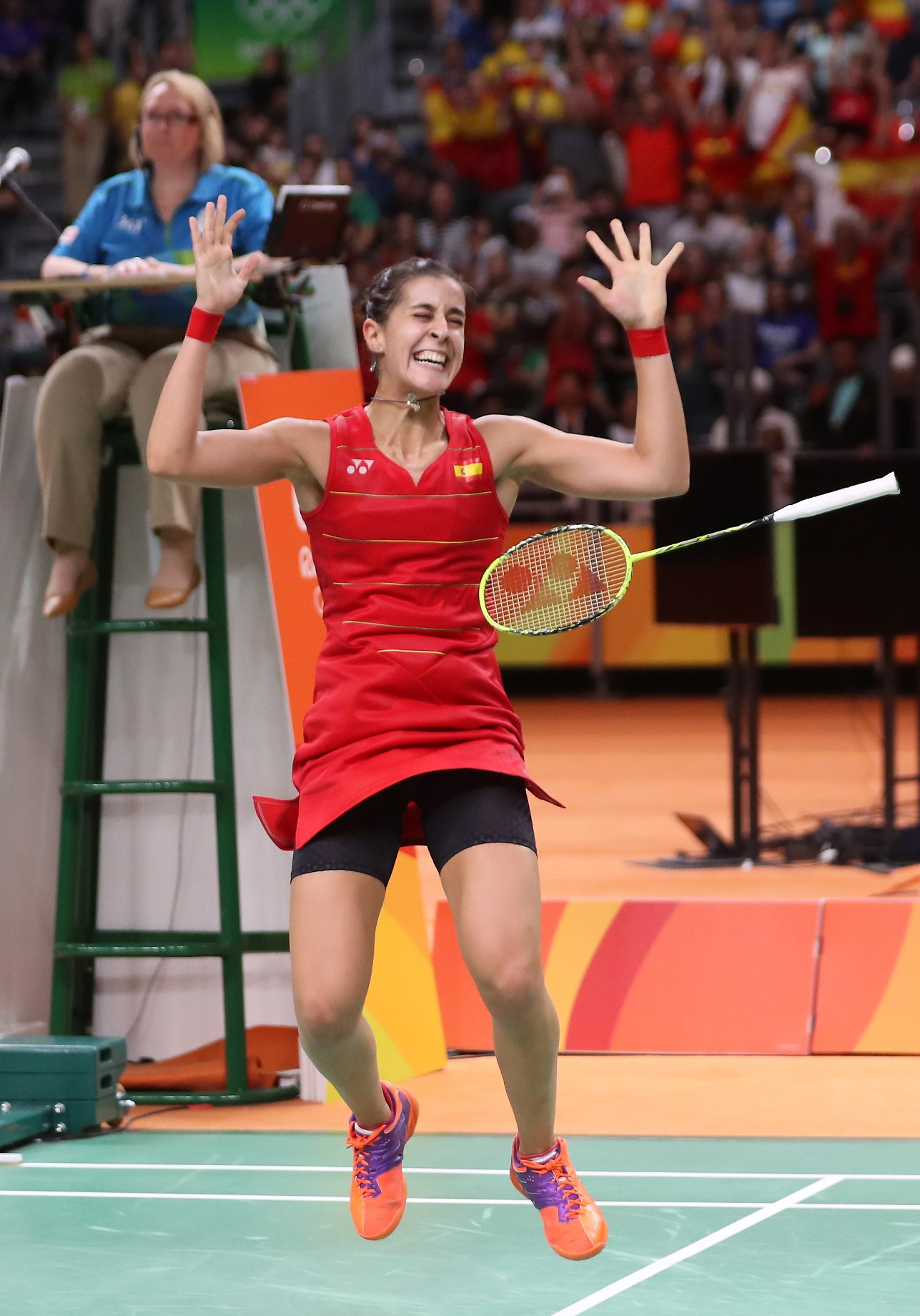 Day 9 - Carolina Marin - Spain 2