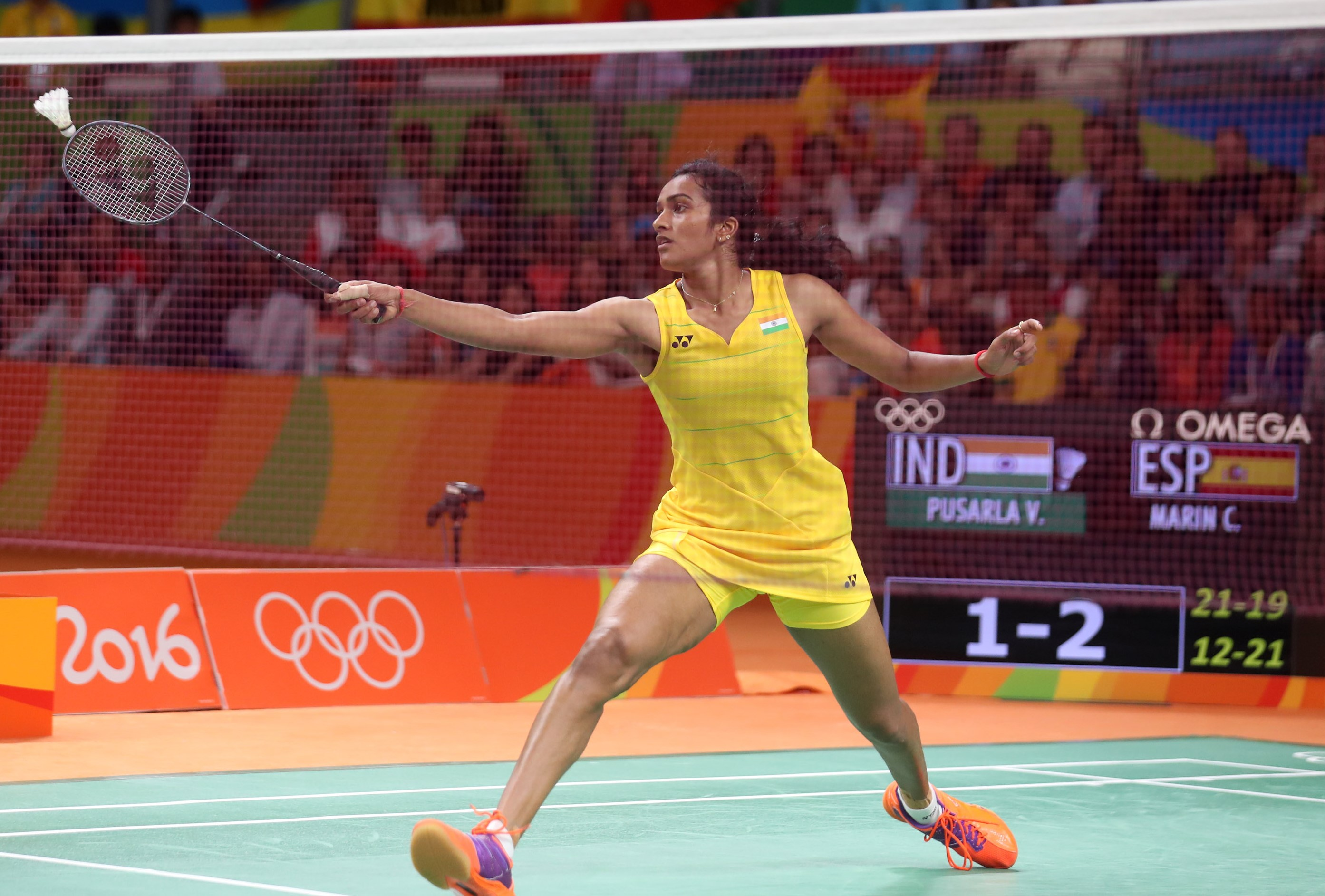 Day 9 - PV Sindhu - India