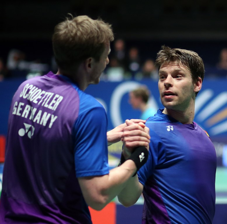 Michael Fuchs (right) & Johannes Schoettler of Germany