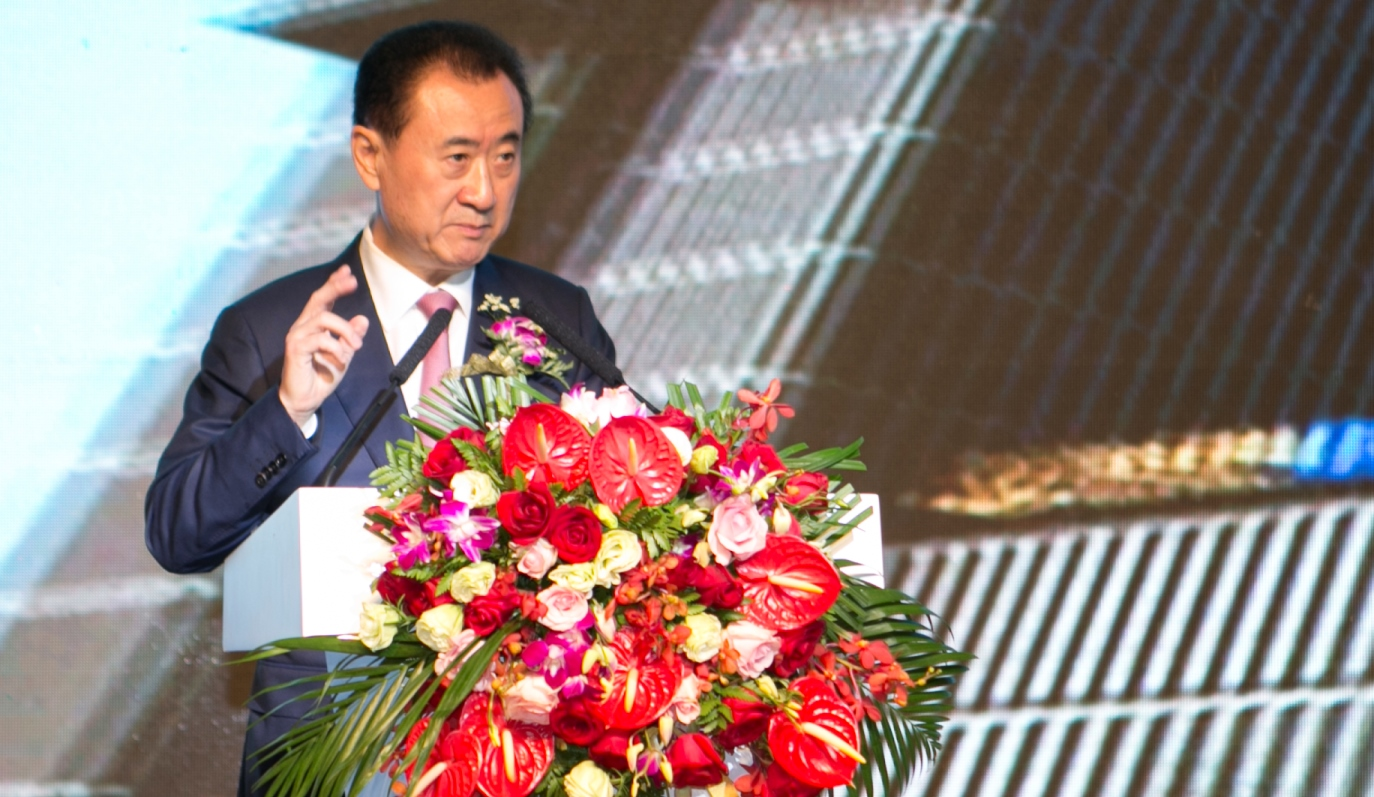 Chairman of the Wanda Group, Wang Jianlin