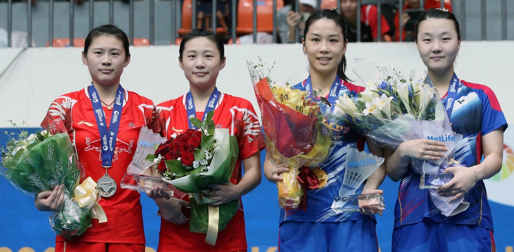 Jung Kyung Eun & Shin Seung Chan and Luo Ying & Luo Yu