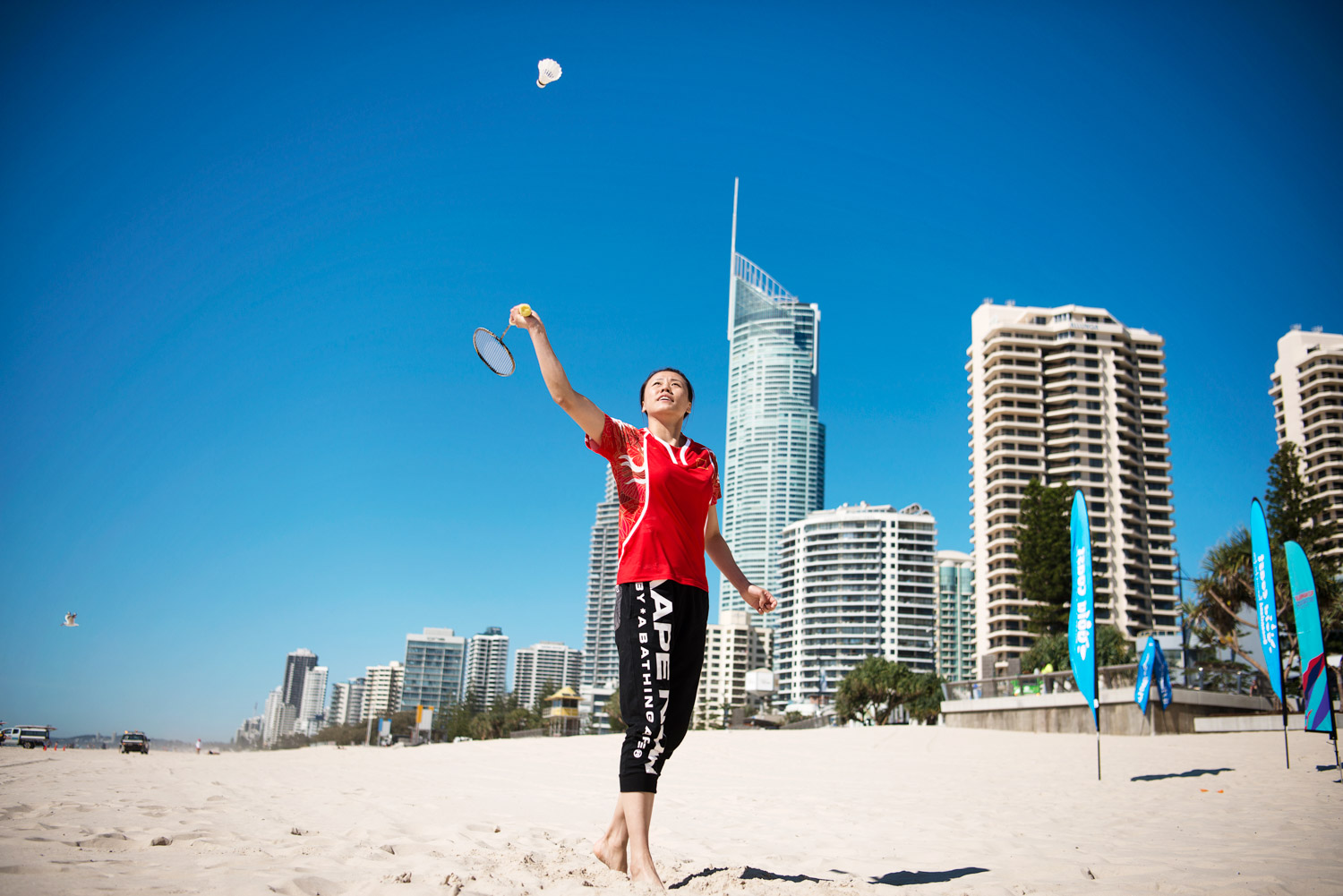 Zhao Yunlei on Gold Coast