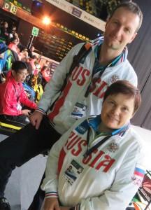Nikolay Nikolaenko and Klavdiya Mayarova