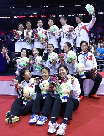 Japan podium
