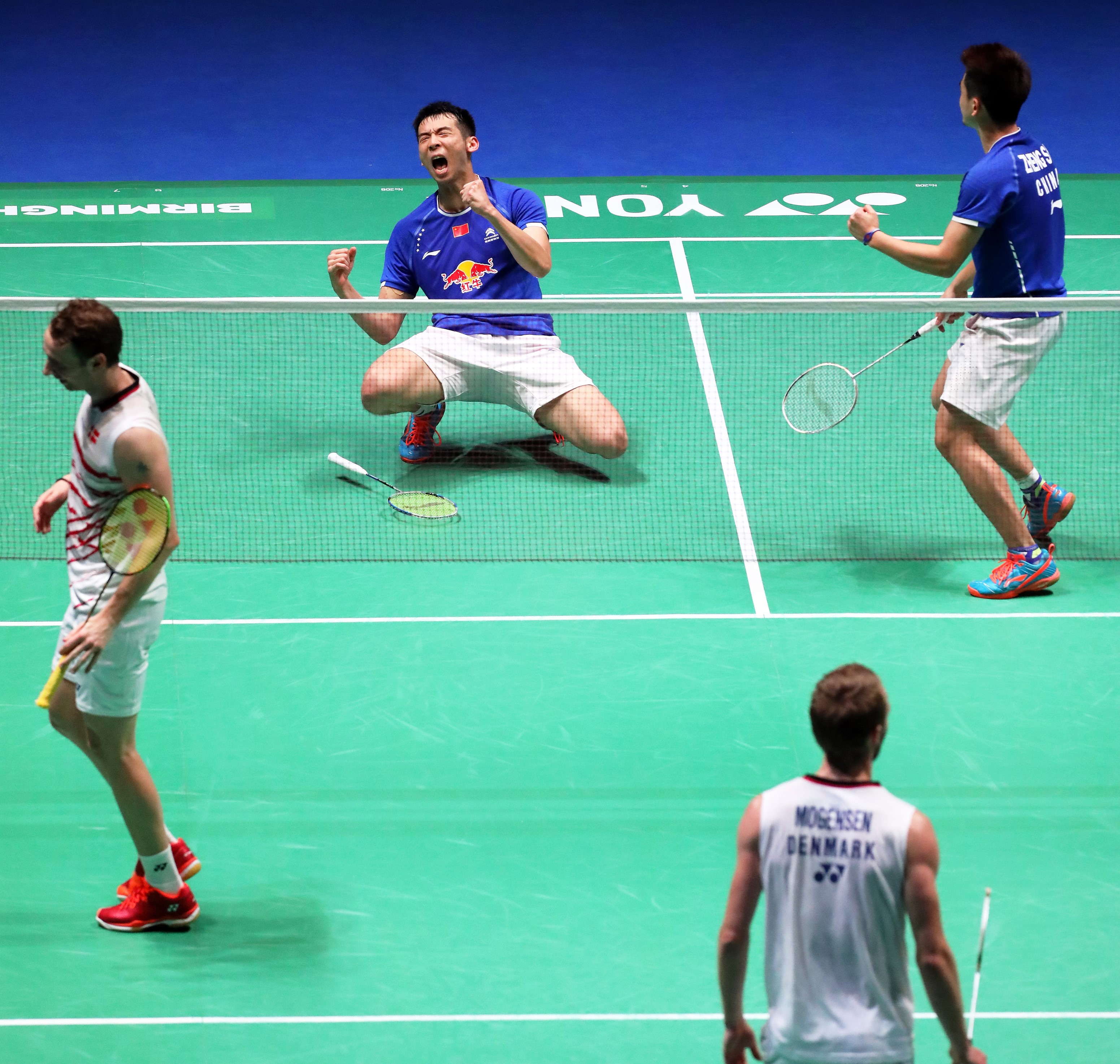 All England 2017 - Day 2 - Lu Kai & Zheng Siwei - China