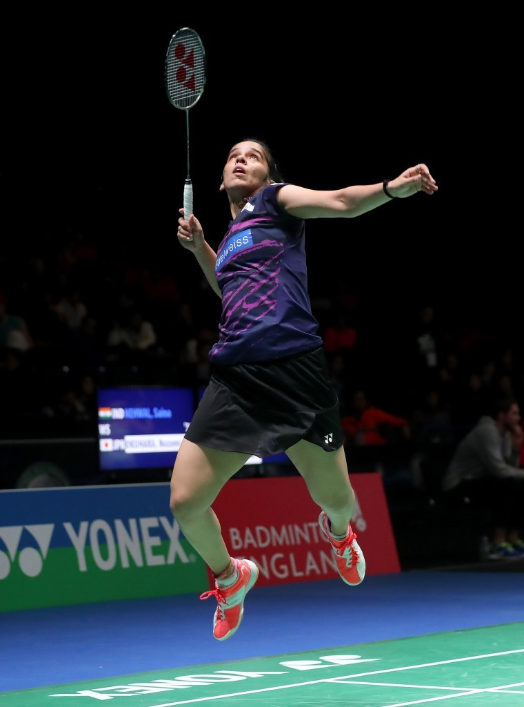 All England 2017 - Day 2 - Saina Nehwal - India