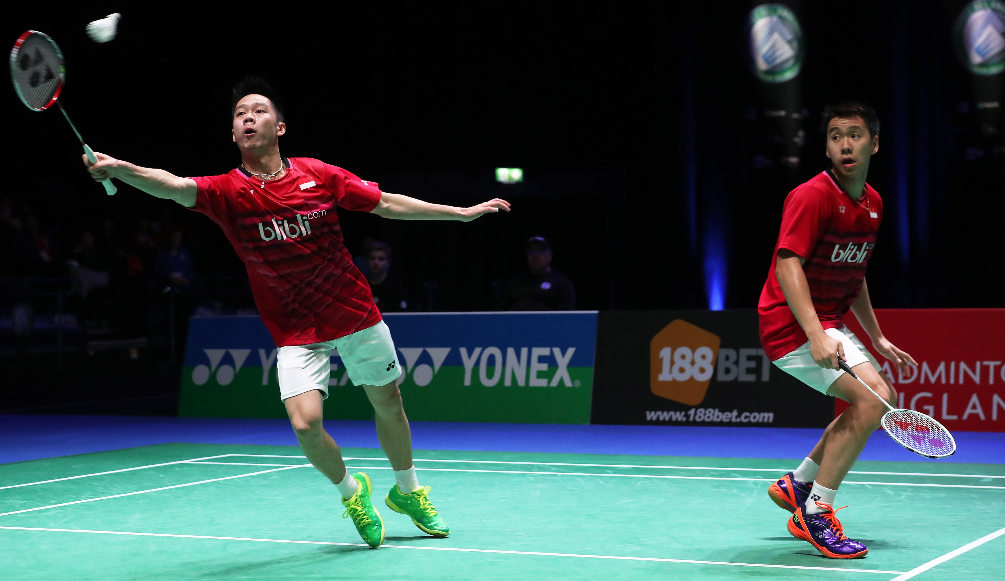 All England 2017 - Day 4 - Gideon & Sukamuljo - Indonesia