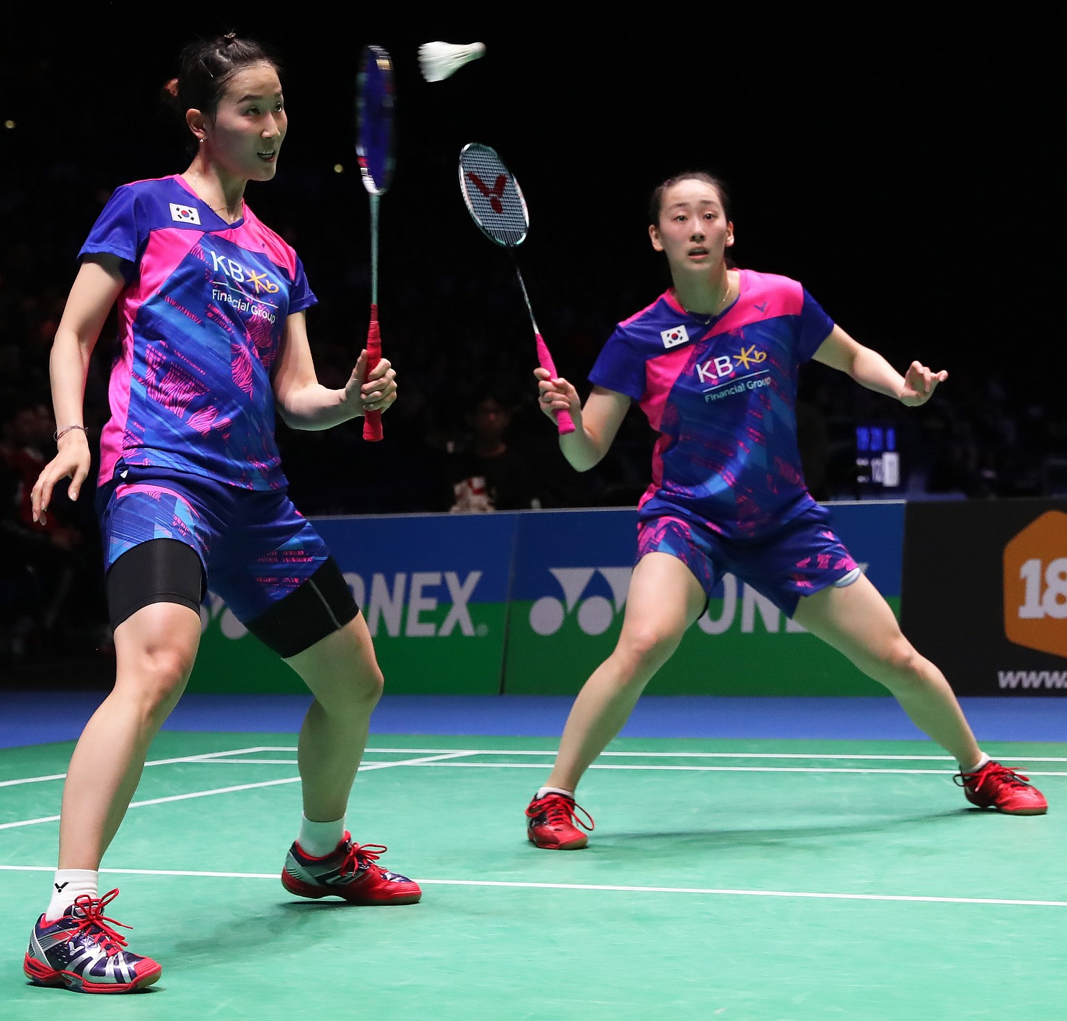 All England 2017 - Day 5 - Chang Ye Na & Lee So Hee - Korea