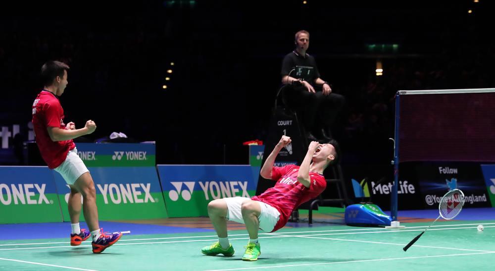 Finals_Kevin Sanjaya & Marcus Fernaldi Gideon