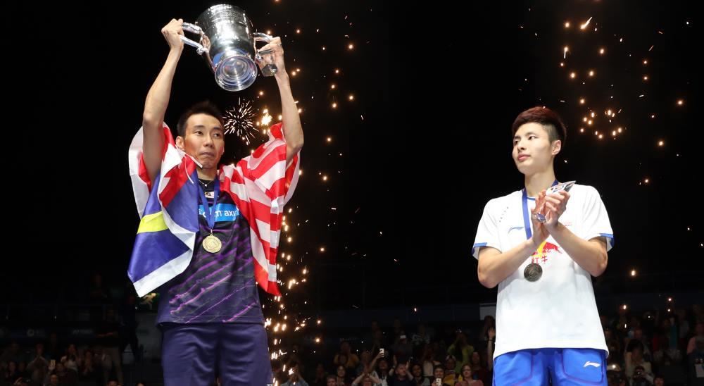 Finals_Lee Chong Wei & Shi Yuqi
